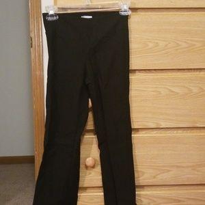 Black slack pants EUC
